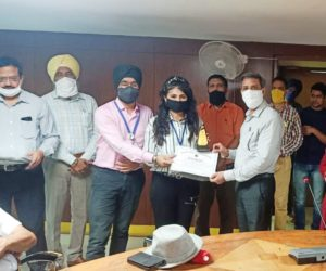 NGO TAMMANA was honored by the MUNICIPAL CORPORATION, MOHALI for the profound dedication, contribution and humanitarian services extended towards the society through its KARONA Initiative during COVID-19 Pandemic.