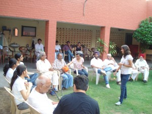 Event 11 : Time Spending with Old Age Home