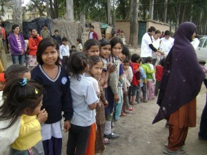 Event 19 : Clothes Distribution at Slums
