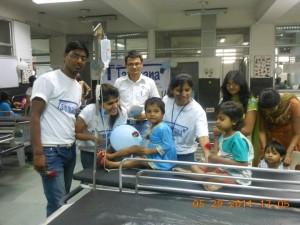 Event 33 : Spreading Love @ Pediatrics Ward at Govt. Hospital