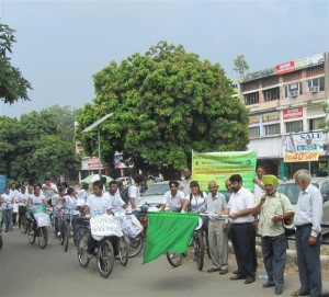 Event 35 : Cleanliness Cyclothon