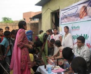 Event 8 : Free Pediatric Rural Camp
