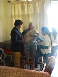 Event 61 : Physiotherapy Camp for old age residents