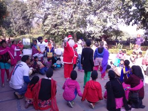 Event 68 : Xmas Celebrations at Sukhna Lake for the children of Guru Aasra trust in association with CITCO