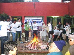 Event 30 : Lohri Celebrations at Old Age Home