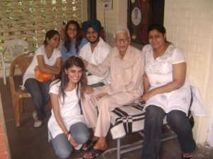 Event 9 : Stress Free Living : Time Spending at Old Age Home