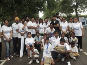 Event 22 : Marathon for less-privileged children of Slum