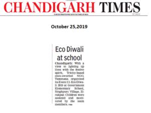 Chandigarh times, oct 25,pg 4,event 111- diwali