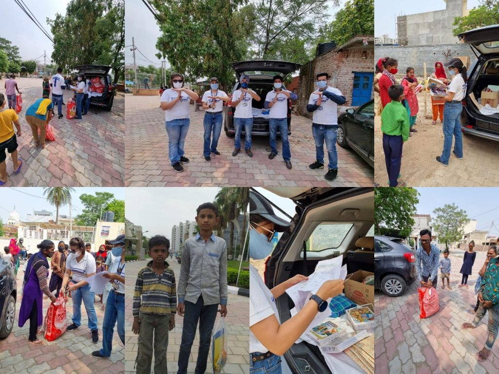 Distribution Drive at Project Yakeen