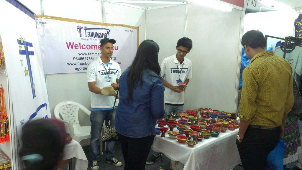 Diwali Fund Raiser Stall at Sector 34 Carnival Chandigarh