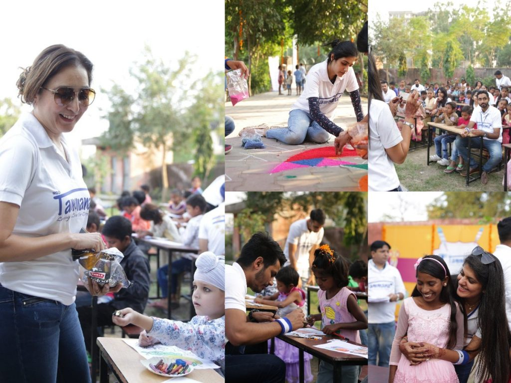 Eco Diwali at Project Yakeen
