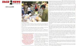 Face2news.com,e-paper,12th June 2020,Karona Initiative