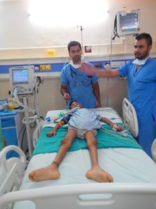 Help for special cases in hospitals