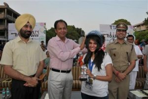 Honour by traffic police chandigarh