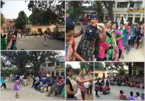 Play Time & Fun Activities for Children at Guru Aasra Orphanage, Palsora Village, Chandigarh