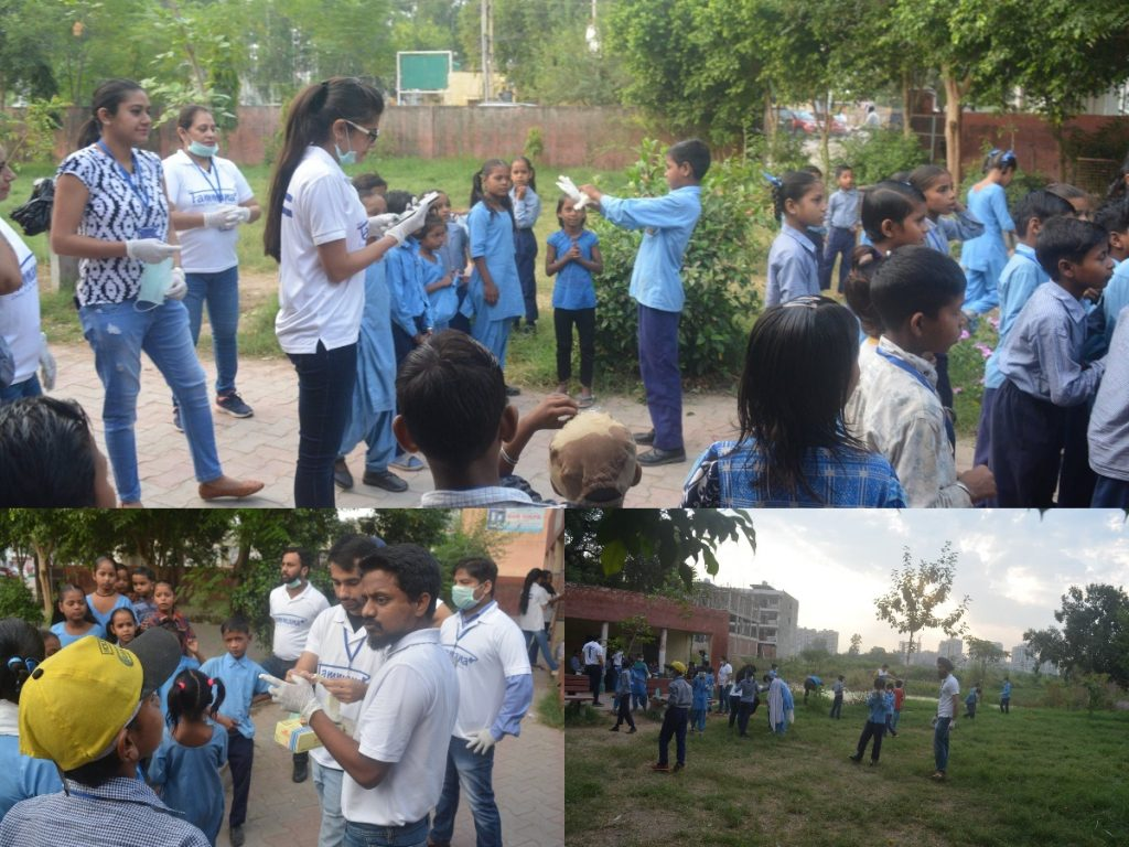 World Cleanup Day - Cleanliness drive at Project Yakeen