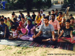 Yoga Sessions at Guru Aasra Orphanage, Palsora Village, Sector 55 Chandigarh