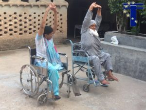 Yoga for the Elderly at Palsora Village